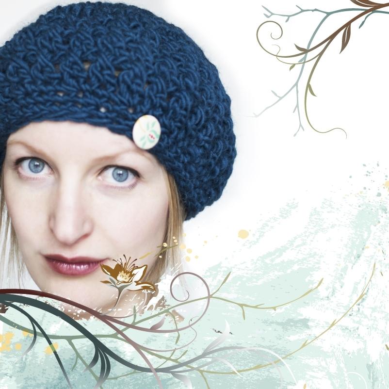 Crochet Hat Pattern Beret : Pattern knittles slouchy crochet beret / hat pattern by ...