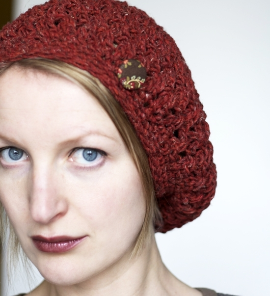 Free Crochet Beanie Beret Pattern : Pics Photos - Free Crochet Tam Beret Hat Pattern Crafts ...
