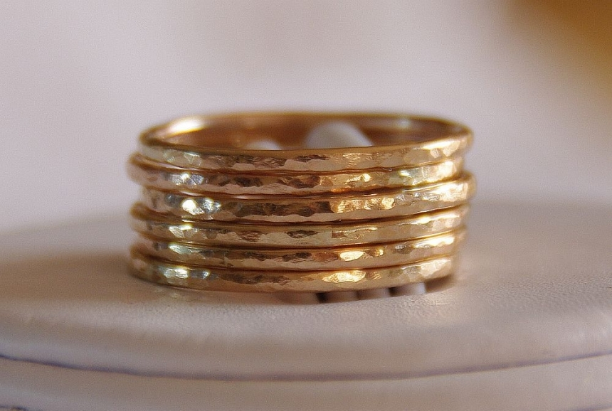 14K Gold Filled Stackable Rings