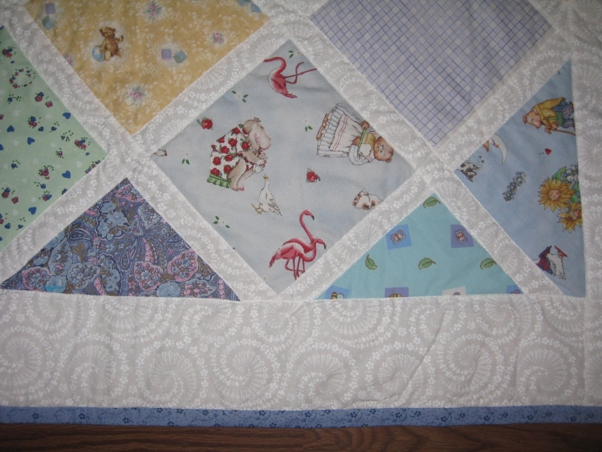 Handmade Quilt By Dragonfly 1 Baby Items On ICraftGifts