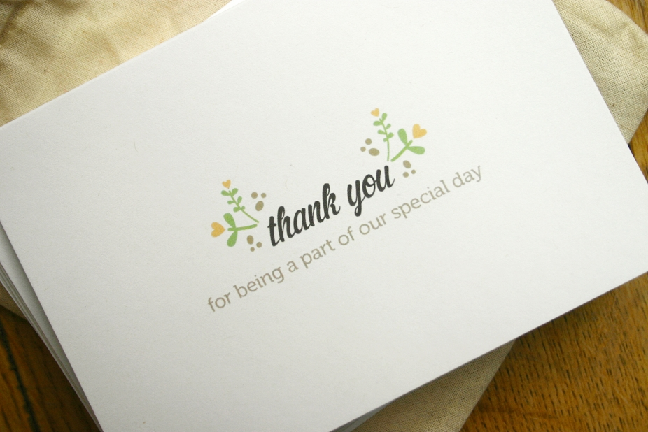 Wedding Gift Thank You Cards Pack : Wedding Thank you card set by Thunderpeep, Greeting Cards