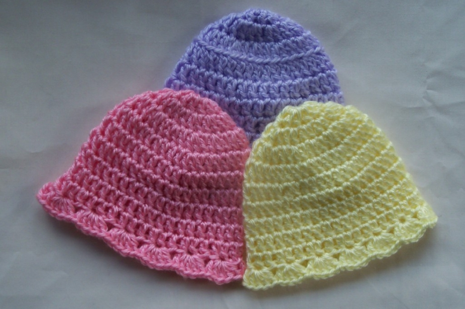 simple crochet baby hat pattern