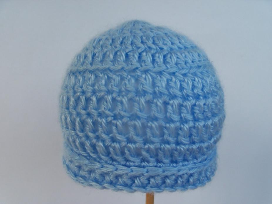 Pdf simple crochet baby hat pattern by 4PennyGirl, Hats
