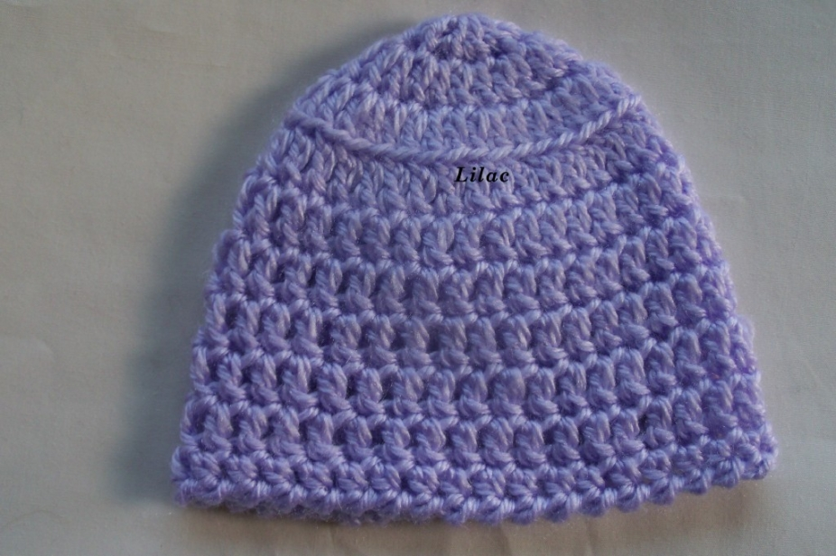 Simple Crochet : Pdf simple crochet baby hat pattern by 4PennyGirl, Hats