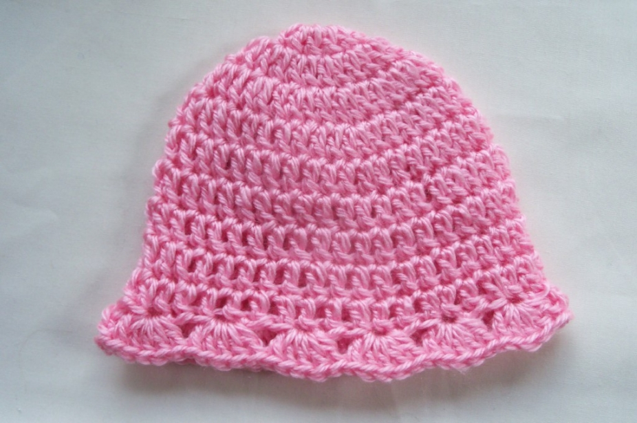 Crochet Baby Hat Patterns 0 3 Months : Pdf simple crochet baby hat pattern by 4PennyGirl, Hats