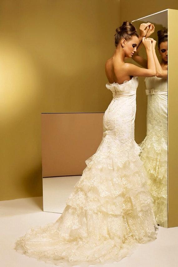 Wedding Dresses Trumpet Silhouette 88