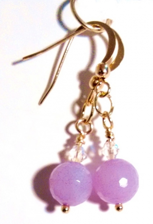 oval jade purple and of cz d earring earrings products hsn drop yesteryear