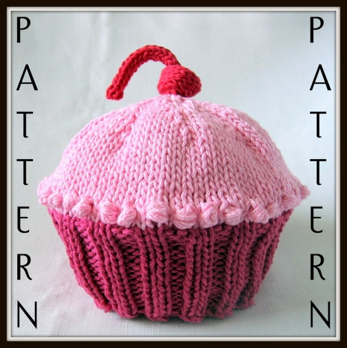 Free Doll Knitting Patterns Download : Knitted Cupcake Patterns Cake Ideas and Designs