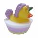 Purple Unicorn Ducky Glycerin Soap