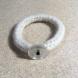 ivory knit bracelet