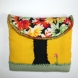 Autumn tree change purse-front
