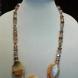 Sparkle Agate Stone Necklace