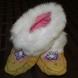 Moosehide slipper/moccasin