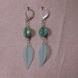 Aqua leaf is made from lightweight lucite