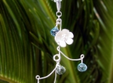 Frost Blossom Vine Necklace