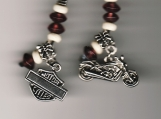 Harley Motorcycle CELL PHONE or PDA Charm DETAILED OOAK