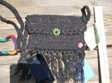 Sparkles Galore! Crochet Cross Body Bag