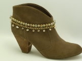 DC103 Gold Olive Neutral Boot Chain