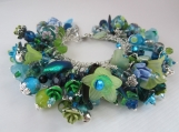 So Blue without YOU, S/S, summer inspired Cha Cha bracelet