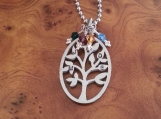 Tree Of Life Pendant, Family Tree Pendant