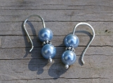 Delicate Little Pearls - Soft Blue