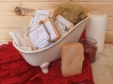 Canola Flair, scented handmade cold process soap