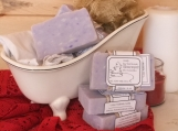 Lilac Rebirth, scented handmade cold process soap