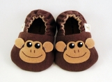 Monkey Baby Booties, 0-18 months