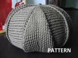 PDF Pattern Large Crochet Footstool