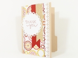 Thank You Card File Folder, Gift Card Holder