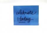 Celebrate Today Note Card Keepsake