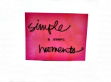 Simple & Sweet Moments Note Card Keepsake