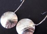 Reedy Sterling Silver Earrings