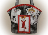 Tootles Boutique Bag - Loralie Harris Designer Fabric Ladies 2