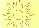 s18 STITCHED SUN
