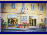 Hotel Berchielli, Florence Cross Stitch Pattern