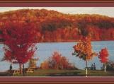 Pennsylvania Landscape Cross Stitch Pattern