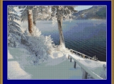Sunny Winter Day Cross Stitch Pattern