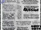 The Dreaded Birthday Digi Word Art Set