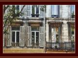 Windows In Marseille Cross Stitch Pattern