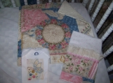Victorian Patchwork Three Piece Gift Set