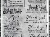 Thank You Feeling Loved Digi Word Art Set