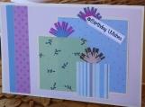Printed Pastels Girls Birthday Present Card