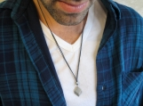 Men's Necklace - Men's Silver Necklace - Mens Jewelry - Men Gift