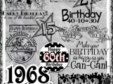 """Lots of Birthdays"" Digi Image and Word Art Set"