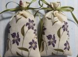 "Ecru 3""X2"" Sachet-'Spring Blossom' Fragrance-Cindy's Loft-658"