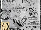 """F is for Father"" Digi Image and Word Art Set"