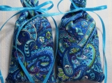 "Blue 3""X2"" Sachet-'Pineapple Bliss' Fragrance-Cindy's Loft-180"