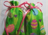 "Easter Green 3""X2"" Sachet-'Berry Crush' Scent-Cindy's Loft-443"