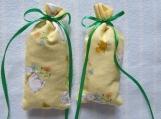"""Easter Yellow 4""""X2"""" Sachet-'Spring Blossom' Fragrance-234"""